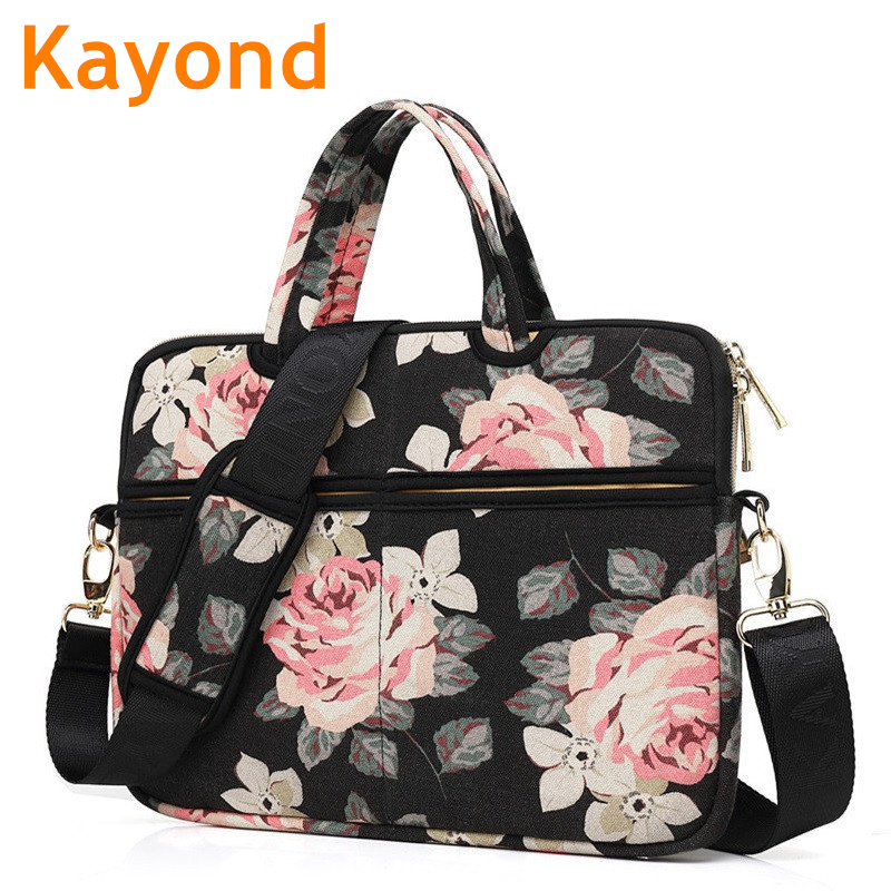 2018 Brand Kayond Messenger Bag For Laptop 13,14,15,15.6, Handbag Case For Macbook 13.3,15.4, Compute 14.1, Free Shipping K19