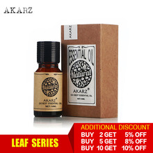 AKARZ Professional Plants Leaf series top sale essential oils aromatic for aromatherapy diffusers body skin care aroma oil