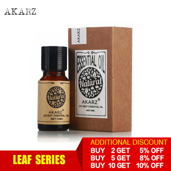 AKARZ Professional Plants Leaf series top sale sale essential oils aromatic for aromatherapy diffusers body skin care aroma oil akarz famous brand best set meal patchouli essential oil aromatherapy face body skin care buy 2 get 1