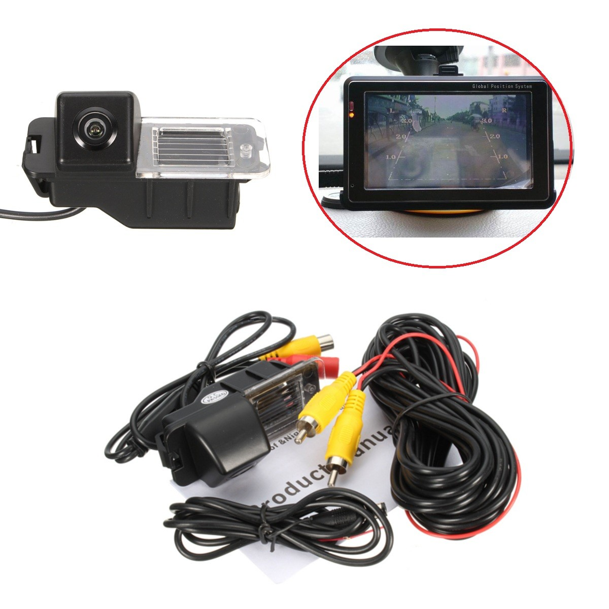 Car Reverse Reversing font b Camera b font Kit Night Vision Auto Rear View font b