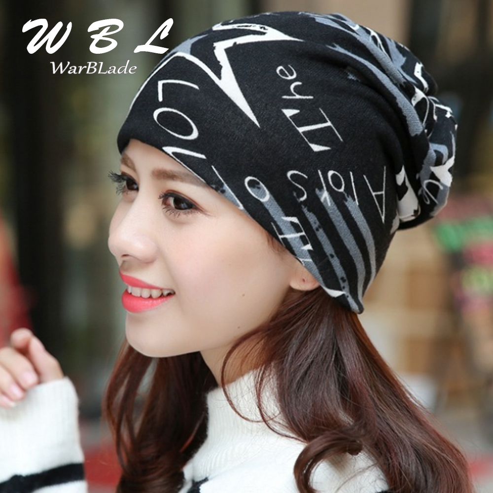 2018 New Headwear Women's Hats Female Winter Caps Star Hats Ladies Spring And Autumn Hip-hot Skullies Beanies Bonnet