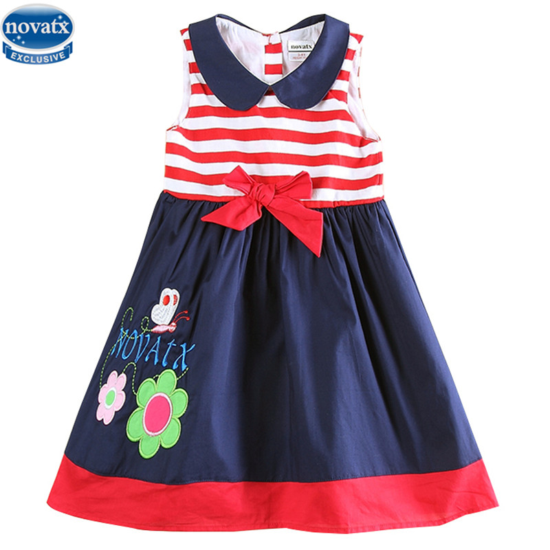 d88be41508d6 Buy summer cotton embroidery sleeveless girls dress and get free ...