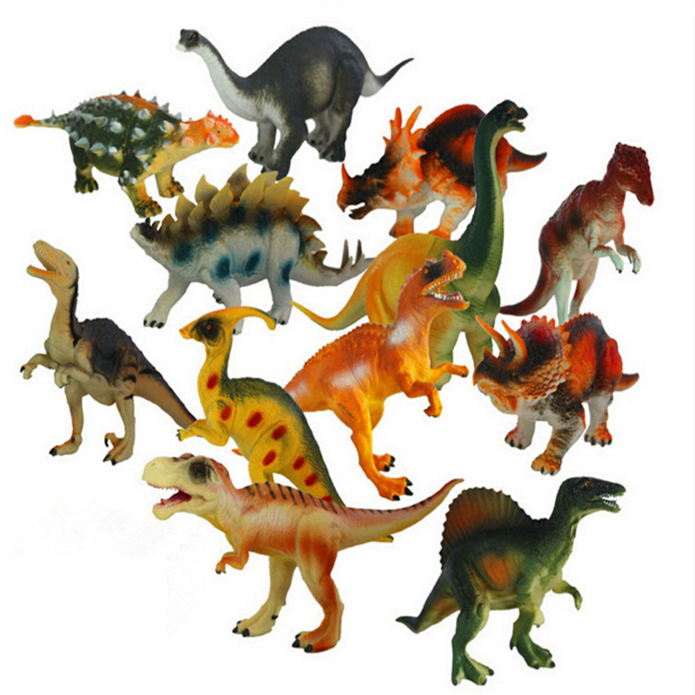 15 18cm Dinosaur Plastic Play Model Action Figure DINOSAUR Toys Kids