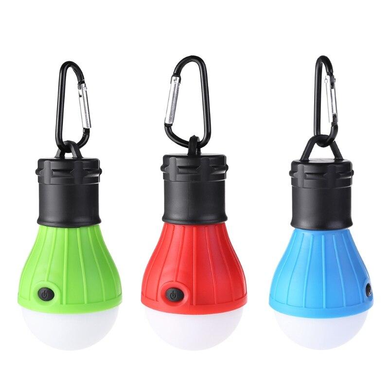 Camping En Plein Air Led Ampoule Lumière Tente Pêche Lanterne D'urgence Randonnée Lampe Suspendue Artisanat Exquis;