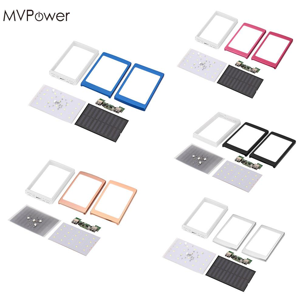 Mvpower 5color Dual Usb Led Pcba Circuit Board Solar Power