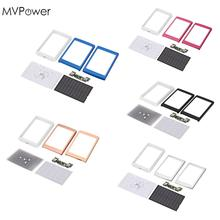 MVPower 5Color Dual USB LED PCBA Circuit Board Solar Power Panel Solar Panel Bank For-18650-Battery DIY Home Portable Charger