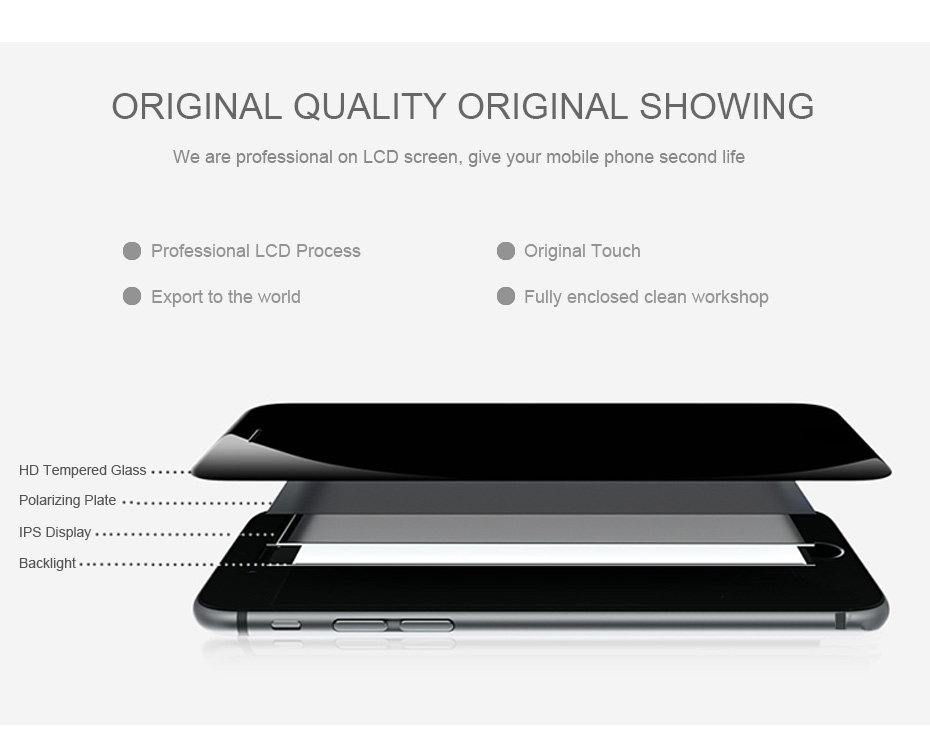 2018 New PINZHENG AAAA Quality Screen LCD For iPhone 7 Plus Screen Touch Display LCD Digitizer 7 Plus Screen LCDS Replacement (2)