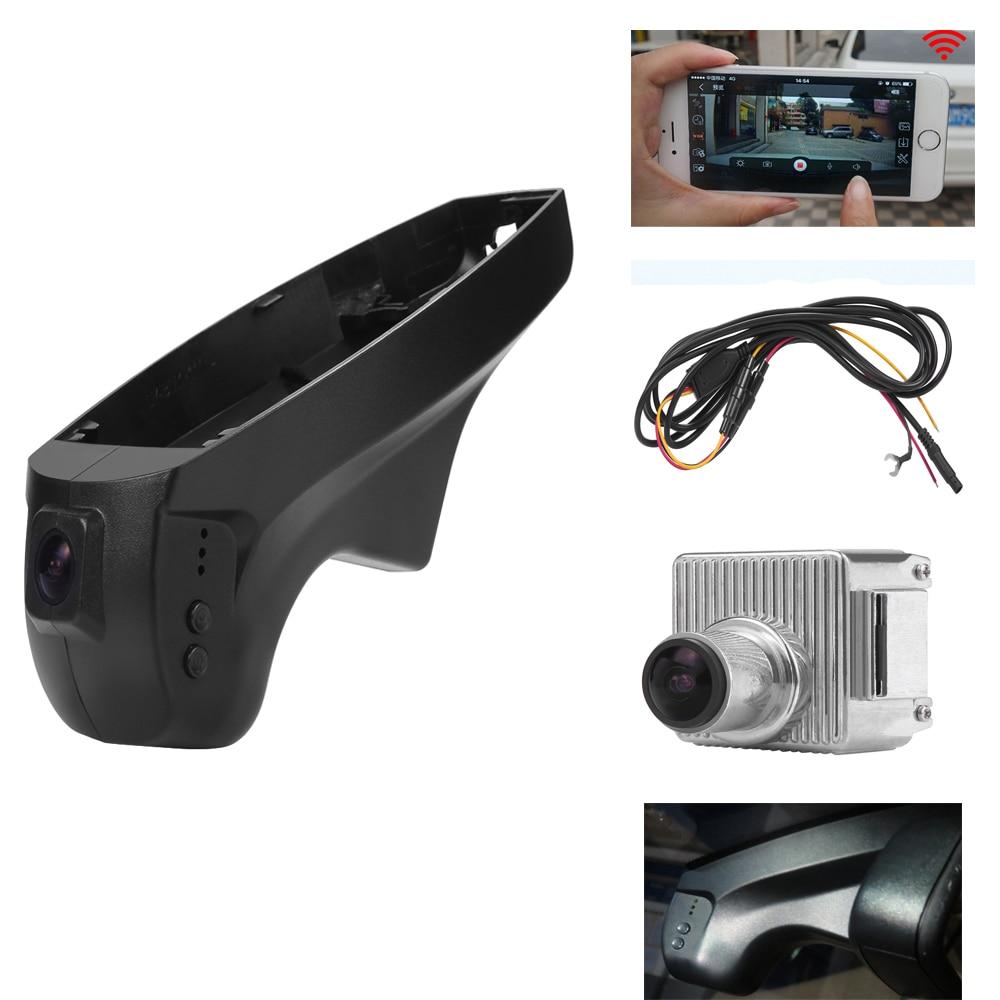 PLUSOBD Full HD 1080P Hidden Wifi Car DVR Camera For BMW E60 E61 E65 E66 E70 X6 E71 With Aluminium Alloy Original Car Styling