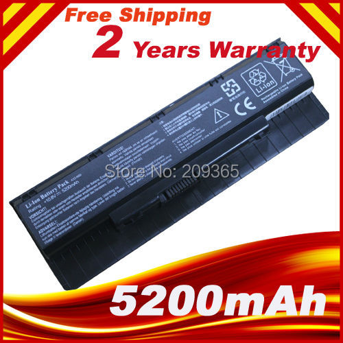 Laptop battery For Asus N46 n46v N46VJ N56 N56D N56V N76 N76V A31-N56 A32-N56 A33-N56