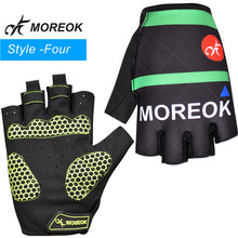 Racing bicycle accessories protective half finger mountain bike gloves