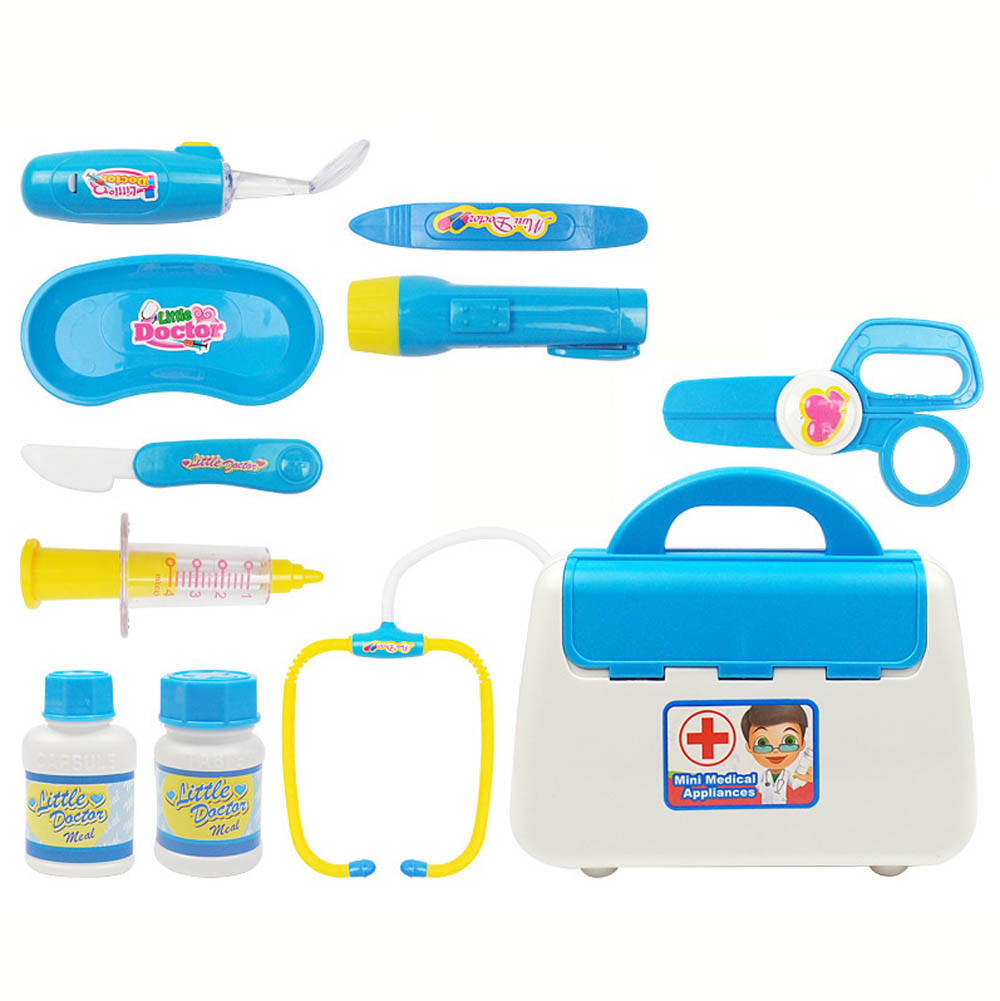 Sylvanian Families Furniture Bolls Kid Boy Girl Play Doctor Pretend Medical Set Kit Case Educational Role Playset Gift For Kids