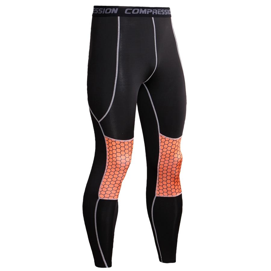 Fashion Men Compression Pants Crossfit Bodybuilding Legging Humme Trousers High Elasticity Soft Sweatpants Men Jogger Plus Size