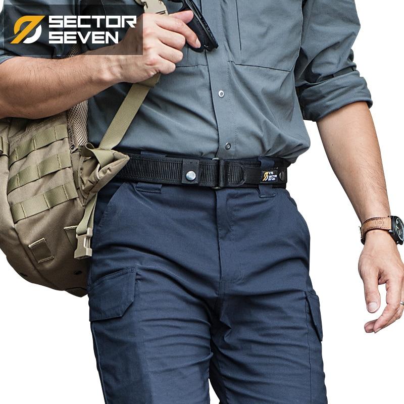 1000D Nylon Men's High Quality Military Equipment Brand Belt Tactical Outdoor Tactic Belt solid Army Male Belts Cummerbunds