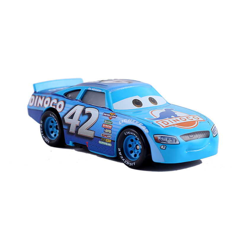 Disney Pixar Cars 3 No.42 Cal Weathers Diecast Metal Toy Model Car 1:55 Loose