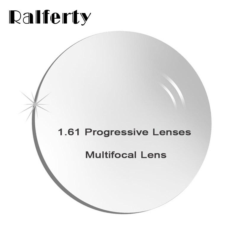 1.61 Intérieur Prescription Verres Progressifs Forme Libre Lentille Multifocale pour Près de Loin Vue Myopie/L'hypermétropie Correctives Lentilles Optiques