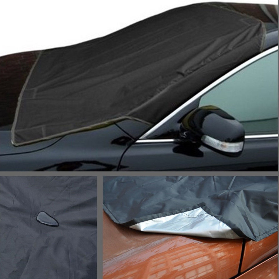 Car Windshield Snow Cover Winter Ice And Snow Protector Thickened 215*125cm|Car Covers| |  - title=