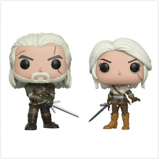 Funko Pop The Witcher 3 Wild Hunt Geralt PVC 2019 Action Figure Collectible Model Kids Doll Boy Toys