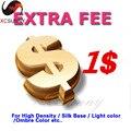 Honorarios adicionales para el envío. color de la luz, densidad del pelo etc, eg. $1 cada, si necesita $20 Pls comprar 20 unidades, Pls contacto con ee.uu .