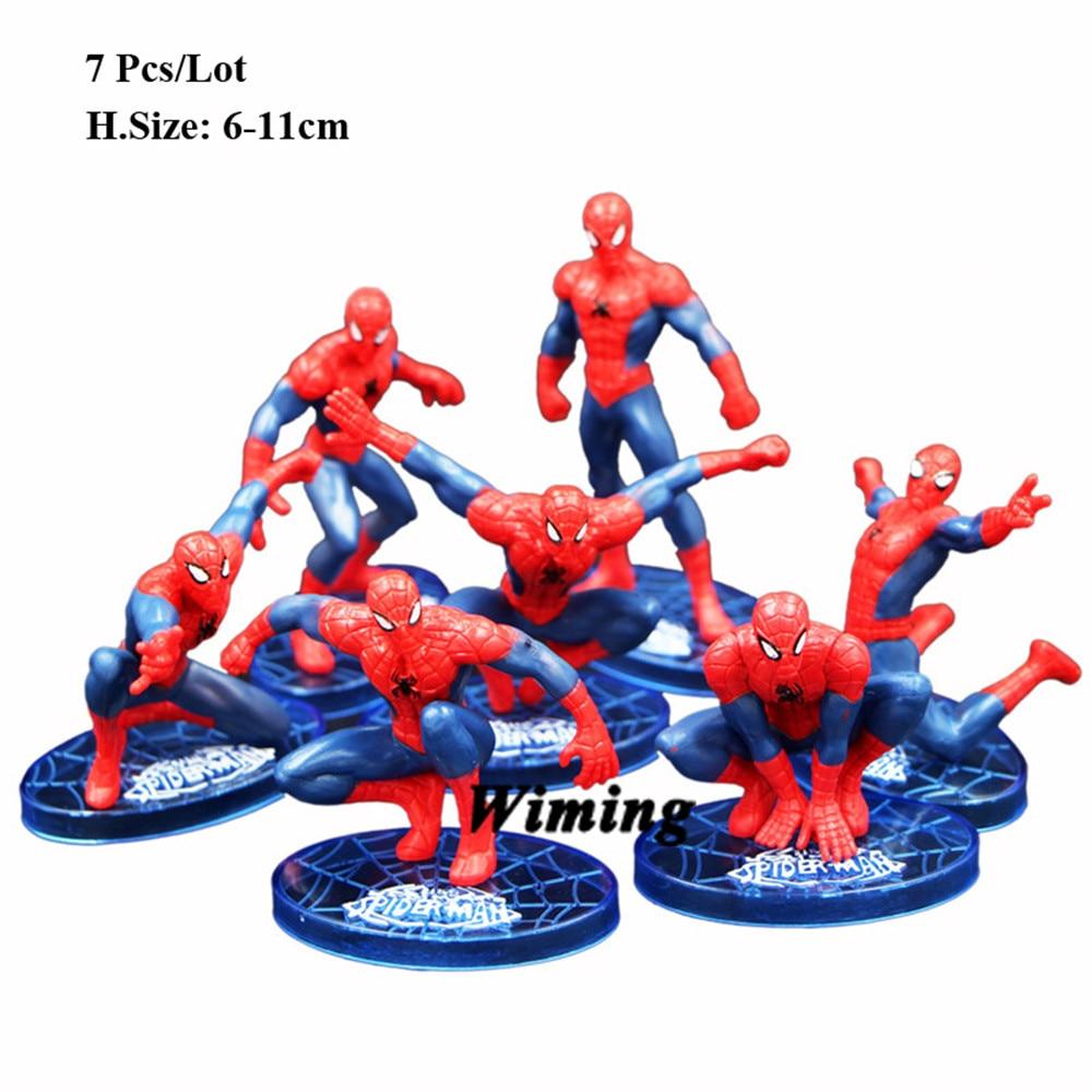 Pleasing Cupcake Toppers Spiderman Birthday Ts Friend Kids Toy Spider Funny Birthday Cards Online Unhofree Goldxyz
