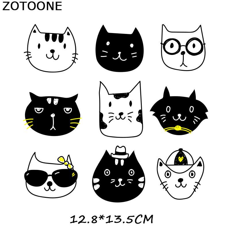 ZOTOONE Iron on Letters Heat Transfer Cartoon Patches Iron on Transfers for Children 39 s Clothes Applique Clothes Diy Patch Cute E in Patches from Home amp Garden