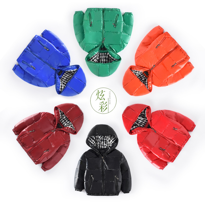 Boy Down Winter Jackets Kids Hooded Coats Children's Warm Parkas Baby Brand clothes Girl New High quality Outdoor Kinds Sport 2017 fashion boy winter down jackets children coats warm baby cotton parkas kids outerwears for