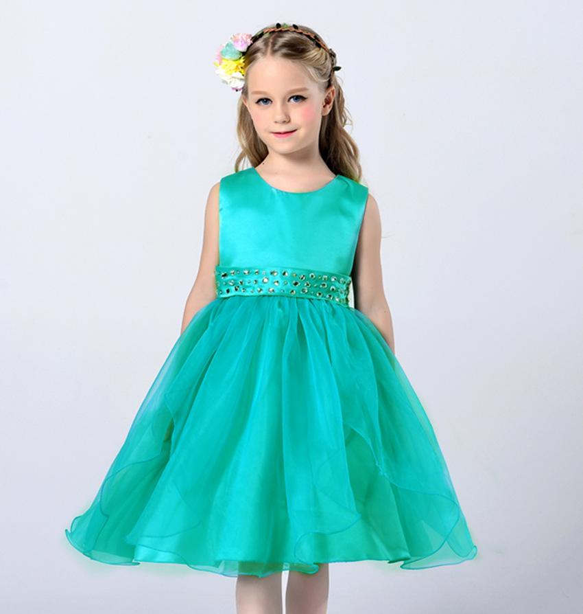 2016 flower girl dress for wedding party new style Lace ...