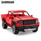 ZhenDuo Toys C51005 RC Technic Series Car Pickup Truck Remote Control Blocks Brick Toy