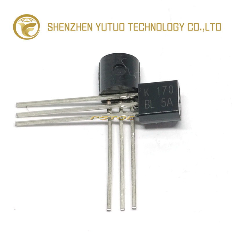 PSTQE  2SK170 BL 2SK170BL 2SK170 K170 Transistor TO 92 Triode Transistor Low Power Transistor   High quality  In Stock-in Replacement Parts & Accessories from Consumer Electronics