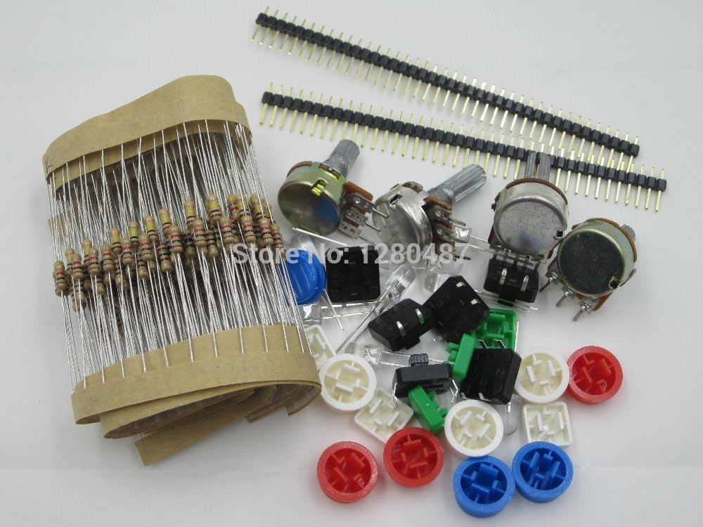 1lot generic parts package for arduino kit купить на алиэкспресс