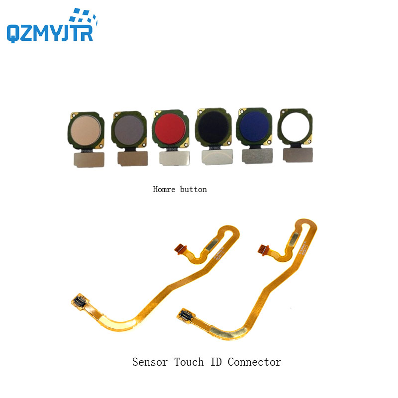 New High Quanlity For Huawei Honor 8 Lite Fingerprint Sensor Scanner Touch ID Home Button Flex Cable For Huawei P8 Lite 2017