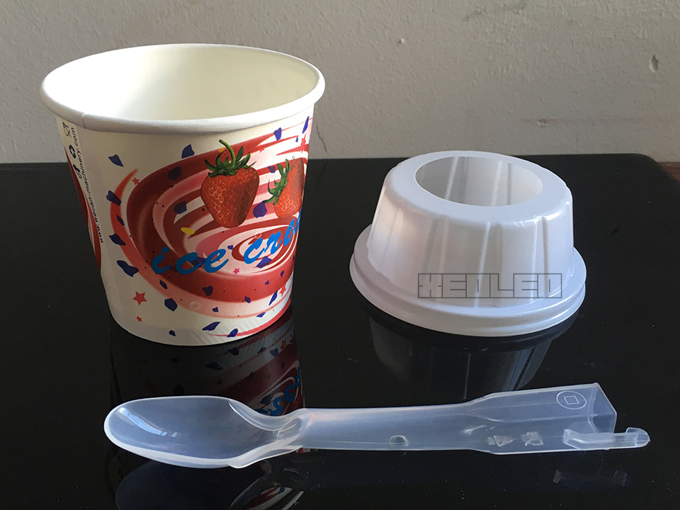 Ложка для мороженого XEOLEO MC Flurry Spoon 1000 шт