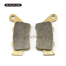 Motorcycle Rear Brake Pads For BMW F650GS/SCARVER F650CS F650ST F650 FUNDURO F700GS F800 R/S/ST/GT/GS/ADV