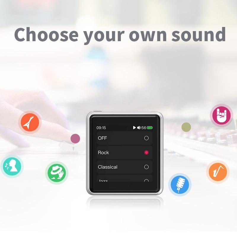 Lecteur MP3 FiiO M5 HiFi | AK4377 | CSR8675 | 32bit/384kHz | natif DSD128 | écran tactile | transmission/réception aptX/LDAC | DAC USB | prise en charge des appels - 4