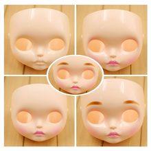 Fortuna Dias Blyth boneca Novo Rosto placa incluindo a placa e parafusos de volta muitos tipos de estilo, fosco rosto, lábios esculpir, sobrancelha
