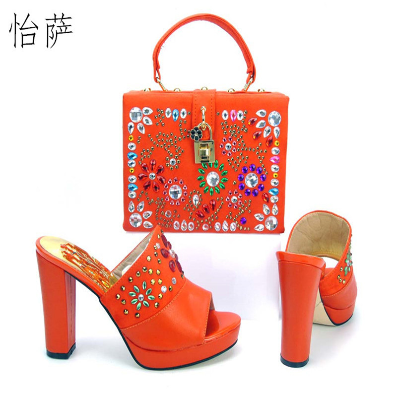New Fashion Italian Shoes with Matching bags For Party,High Quality african Shoes And Bags Set for Wedding shoe and bag PYS1-10 вытяжка simfer 8663sm 500куб 60см черн