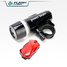 Bicycle Light Front Head Tail Set Safety warning Accessories flashlight for bike water resistant Bike set