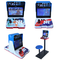 wholesale 1or 2 players 10 inch LCD Screen mini bartop arcade games machines pandora box kit game console cabinet 1500 in 1