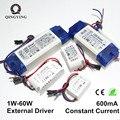 Высокая PF с драйвером постоянного тока для светодиода 600mA 3 Вт 10 Вт 20 Вт 30 Вт 40 Вт 50 Вт 60 Вт 1-2x3w 6-10x3w 10-18x3w 18-30x3W