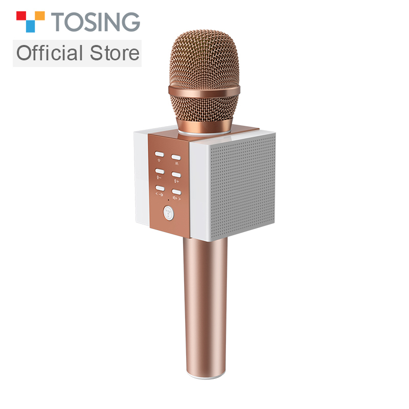 2020 New Most Popular Professional Bluetooth  Handheld Wireless Karaoke Microphone For Cell Phone /TV Singing Support TF Card