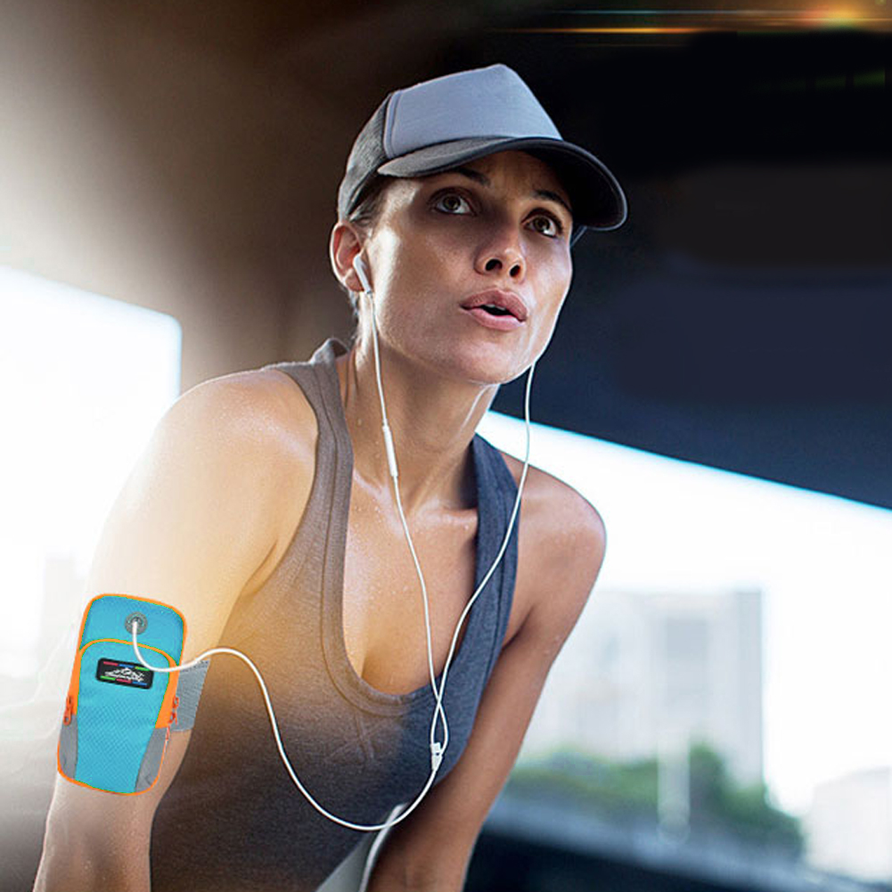 NEW Sport Arm Band Case For 6 inch Phone iPhone/Samsung/Huawei  Outdoor Waterproof Running Gym Phone Cover Coque Accessory 24