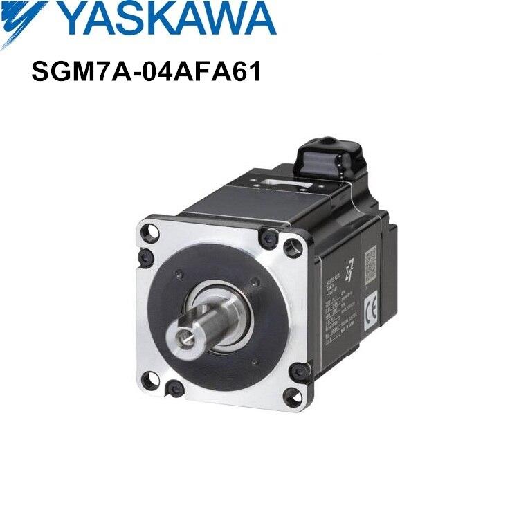 SGM7A-04AFA61 400W YASKAWA servo motor for industrial machinery new and original Yaskawa sigma-7 SGM7 series servomotor