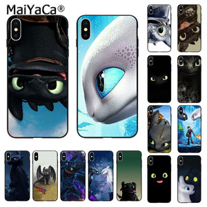 MaiYaCa Toothless How To Train Your Dragon Phone Cover for iphone SE 2020 11 pro 8 7 66S Plus X XS MAX 55S SE XR Cases(China)