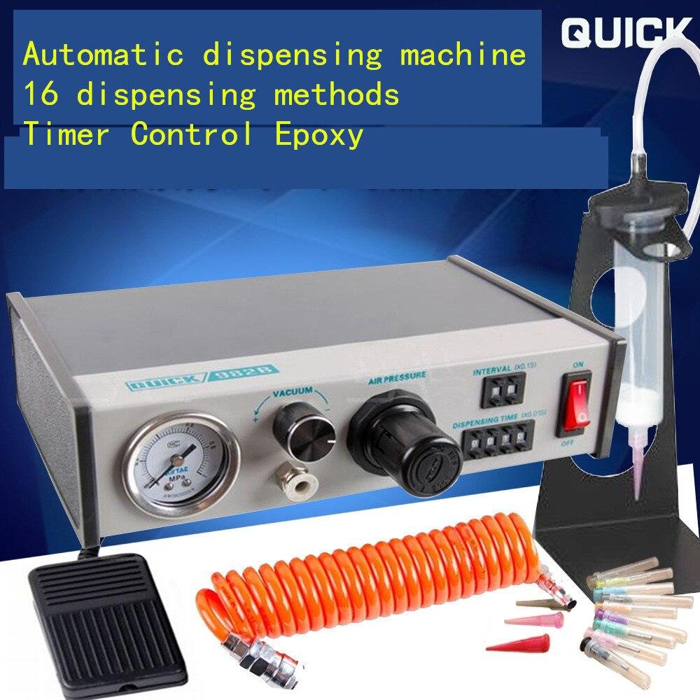 QUICK982B automatic dispensing machine , Glass glue
