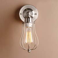 Permo Industrial Wall Lamps Modern Wall Sconce Light Retro Vintage Rustic Luminaire New Year Christmas Decor Loft Balcony Lights