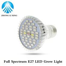 1pcs Grow Led Full Spectrum 30W E27 Led grow light Spot Lamp UV IR Red Blue White For Grow Box Flowering Plants