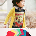 Size90~130 kids coats boys girls outerwear children cardigan sun protection air conditioner candy color