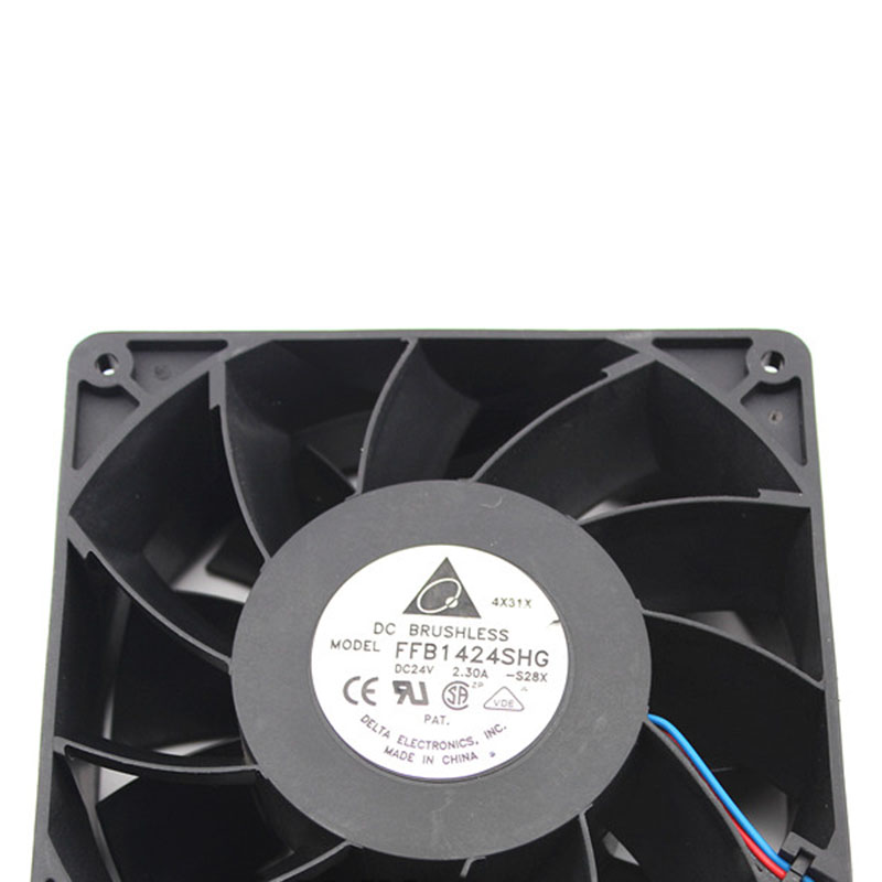 24V2.3A FFB1424SHG for Delta 140 * 140 * 50mm Super wind double ball cooling fan delta 12038 12v cooling fan afb1212ehe afb1212he afb1212hhe afb1212le afb1212she afb1212vhe afb1212me