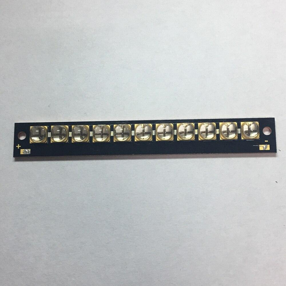 The New 110 watts high-power LED UV violet 6565 365nm 370nm 380nm 385nm 395nm 400nm 405nm 13*95mm board