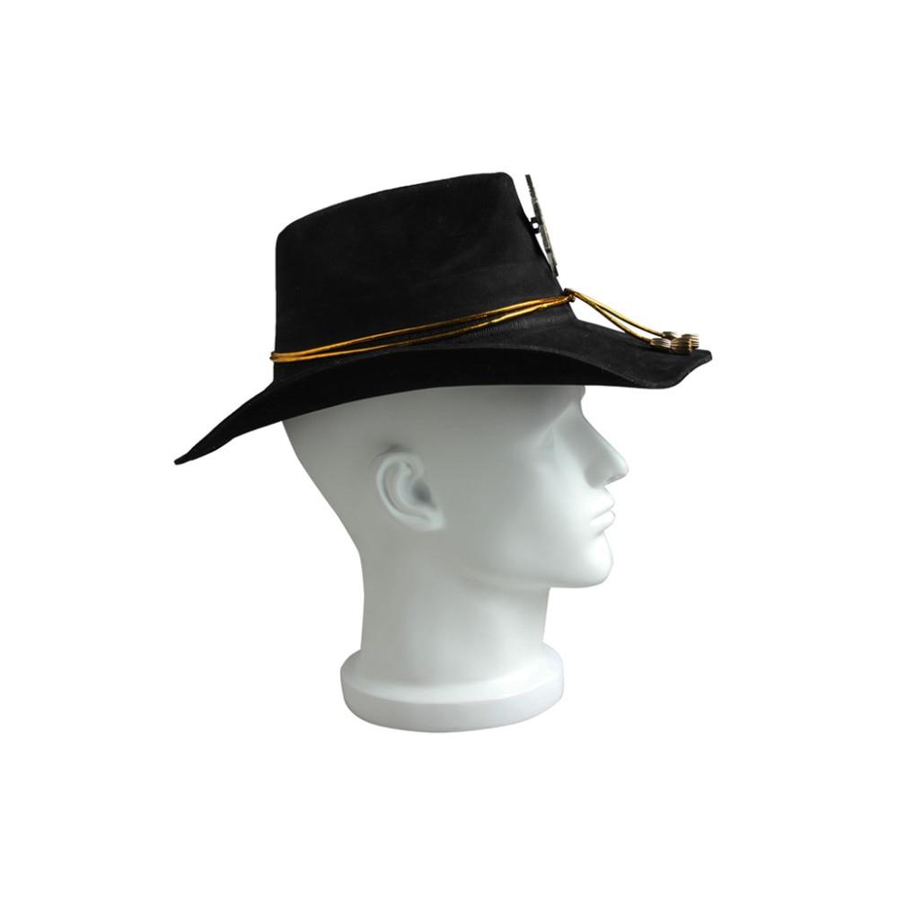 49cd3408ae2 The Walking Dead Season 1 Rick Grimes Cosplay Hat Cap Headgear Halloween  Cosplay Accessories Props. IMG 5314 IMG 5316 IMG 5320 IMG 5311