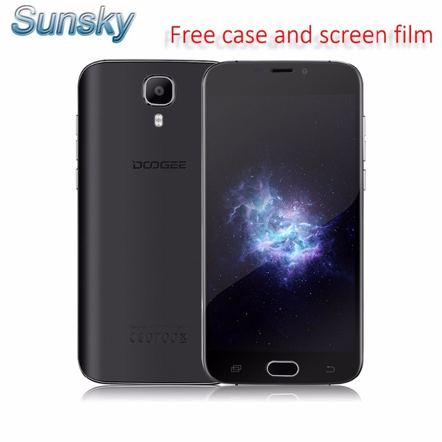 Original Doogee X9 Pro Android 6.0 Smartphone 5.5 Inch MT6737 Quad Core Mobile Phone 2GB RAM 16GB ROM Dual Sim 4G LTE Cell Phone